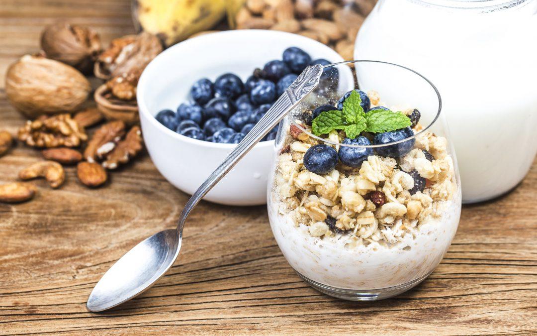 Recipe – Blueberry Hemp Overnight Oats