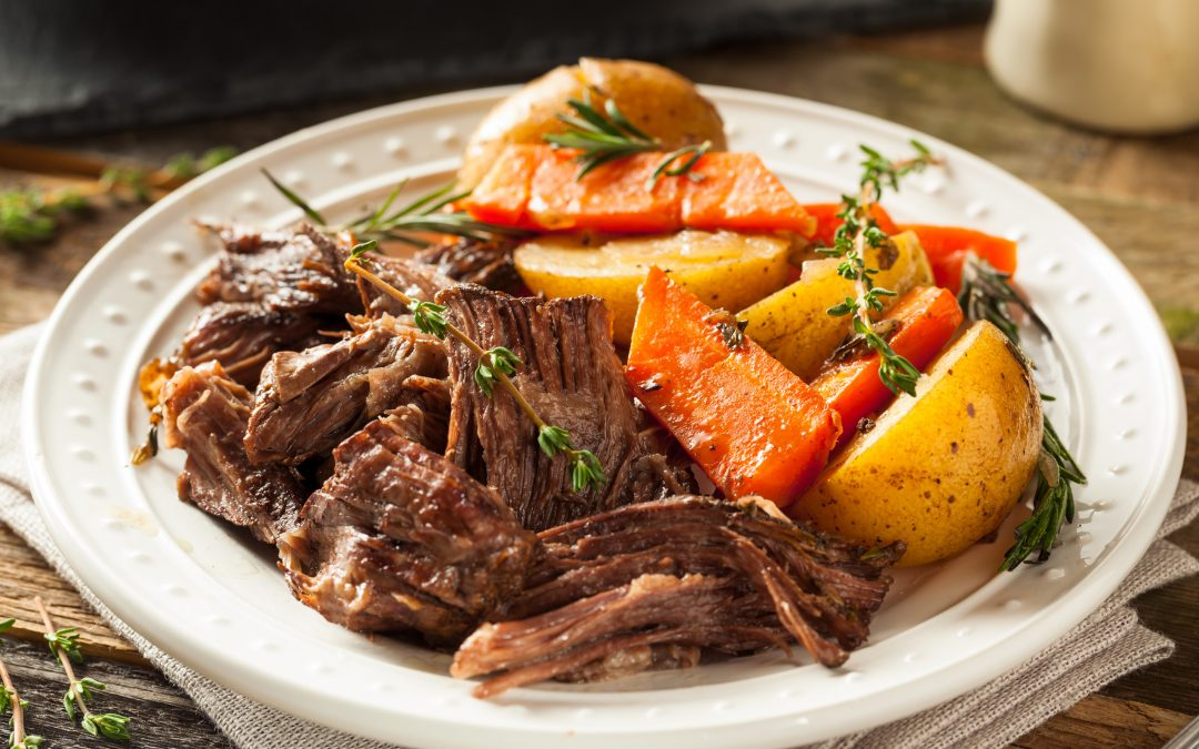 Recipe – Slow-Cooker Roast Beef and Potatoes