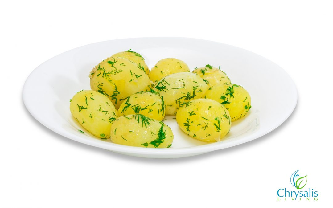 Recipe – Not Your Average Boiled Potatoes