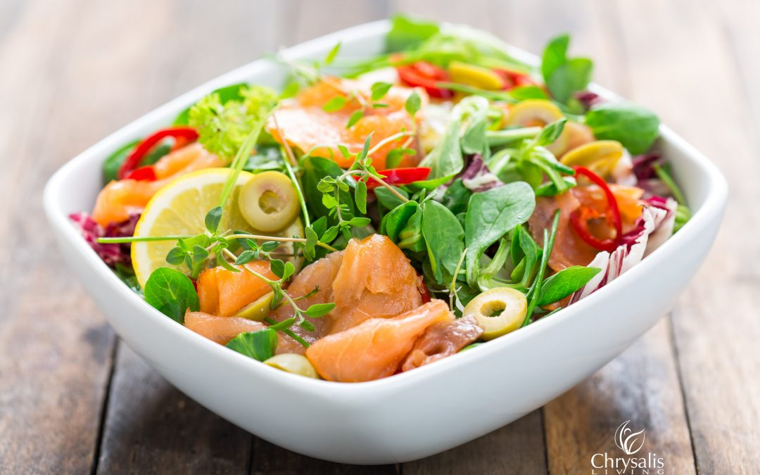 Recipe – Not Your Typical Salmon Salad