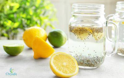 Recipe – Chia Lemon Water