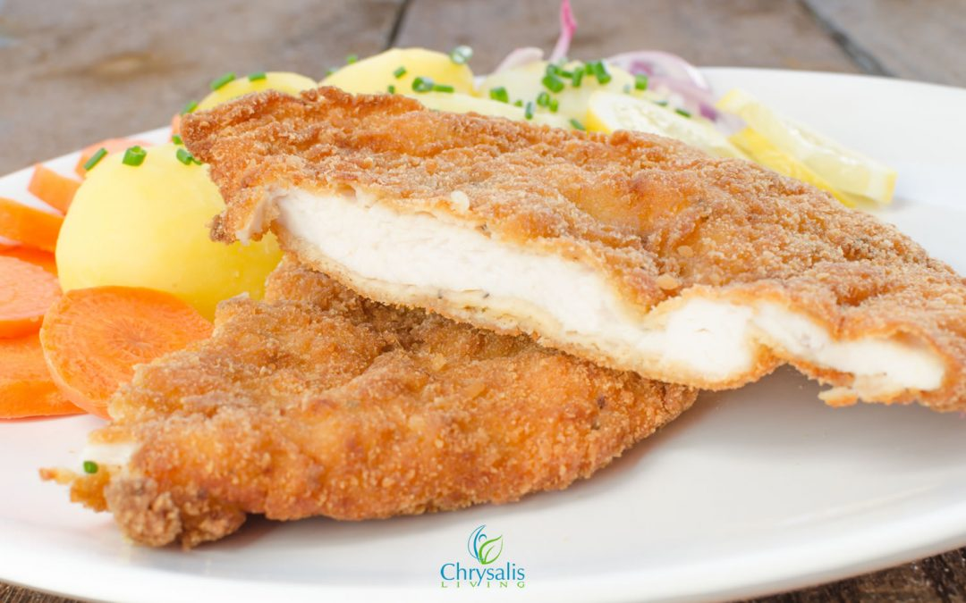 "Recipe – Baked ""Breaded"" Chicken"