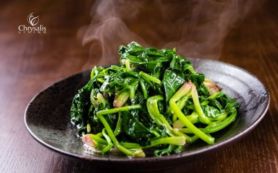 Recipe – Braised Greens with Turmeric