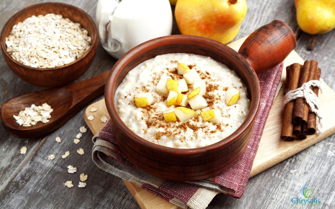Recipe – Steel Cut Oats with Pears